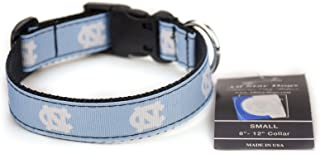 All Star Dogs North Carolina Tar Heels Ribbon Dog Collar - Large