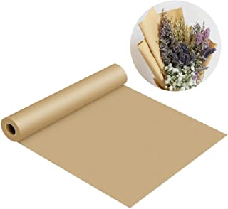 Kraft Paper Roll-30''x1200''(100ft) Brown Butcher Paper FDA Approved 100% Recycled Materials Great for Gift Wrapping, Packing, Craft, Art, Kids Canvas, Banquet