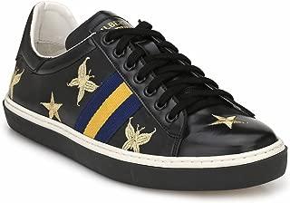 Alberto Torresi Hyerani Black Casual Shoes