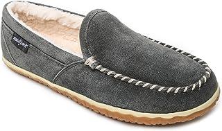 Sponsored Ad - Minnetonka Men's Tilden Moccasin Suede Indoor and Outdoor Slippers