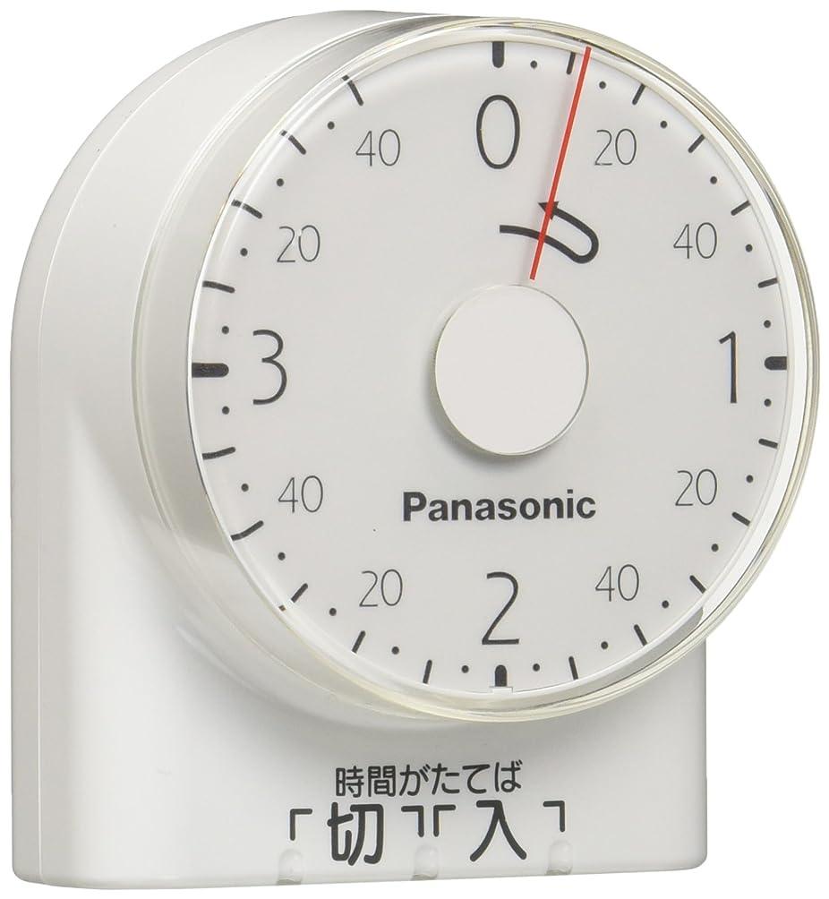 攻撃優先権物語パナソニック ダイヤルタイマー 3時間形?コンセント直結式 ホワイト WH3201WP