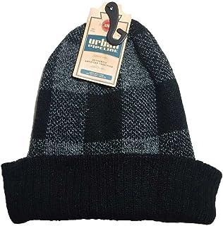 1d438c78a7a Urban Pipeline Men Buffalo Checked Beanie Knit Hat W Cuff One Size YUP53CW04