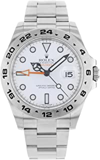 Explorer II White Dial Stainless Steel Oyster Bracelet Automatic Men's Watch 216570WSO