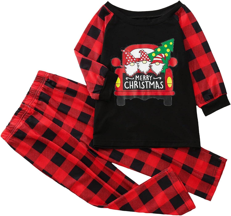 Christmas Pajamas For Family Clearance Xmas Pajamas Pjs Sleepwear Outfits Matching Set (men)