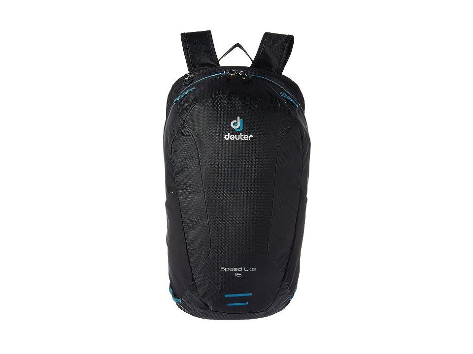 2b29af7b021 Deuter Speed Lite 16 (Black) Backpack Bags