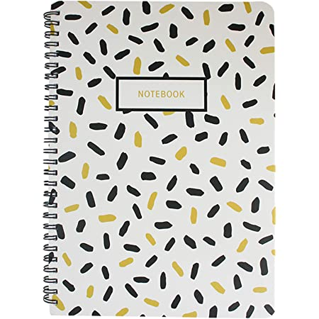 Set of 4 64 Pages Emartbuy Floral Print Diary Exercise Book Notebook Notepad Writing Journal Ruled A5 Size 32 Sheets