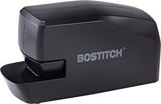 Bostitch Portable Electric Stapler, 20 Sheets, AC or Battery Powered, Black (MDS20-BLK)