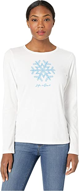 Primal Snowflake Crusher Long Sleeve T-Shirt