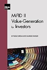 MiFID II: Value-Generation for Investors Paperback
