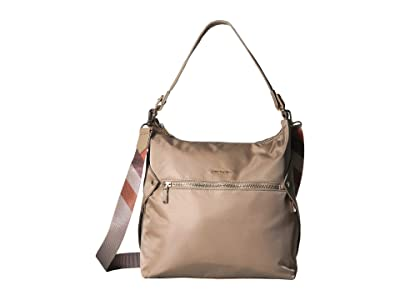 Hedgren Oblique Hobo (Timber Wolf Beige) Hobo Handbags