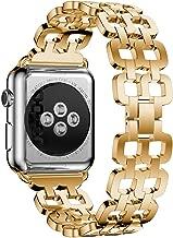 ساعة ابل سيريس 1 - 38 ملم هيكل من الالمنيوم و سوار من الستانلس ستيل لون ذهبي - MJ2LL/A