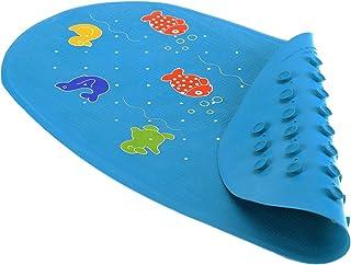 Reer 7610 - Alfombrilla para bañera, color azul