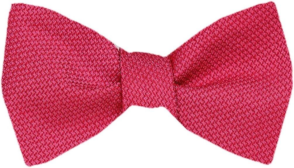 Men's Pink Silk Self Tie Bowtie Tie Yourself Bow Ties
