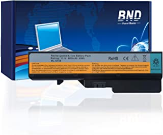 BND Laptop Battery Compatible withLenovo IdeaPad G460 G560 Z560 Z565 Z656, fits P/N L09S6Y02 L10P6Y22-12 Months Warranty[6-Cell 4400mAh/49Wh]