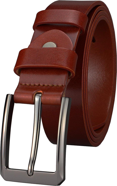 Handmade Greek Leather Belt Men/'s Real Leather Belt 40mm Wide Belt Classic Leather Belt