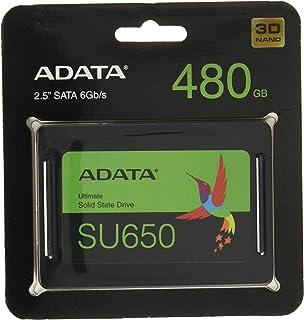ADATA ( エーデータ ) 480GB 2.5インチ SSD内蔵 SU650 SATA 6Gb/s 3D TLC ブリスター ASU650SS-480GT-R [ 海外パッケージ ]