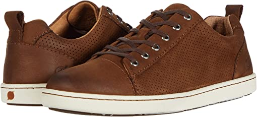 Brown Perf Nubuck