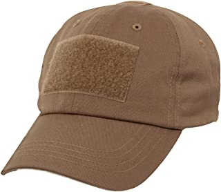 US Military Tactical Operator Adjustable Cap with Loop Patches