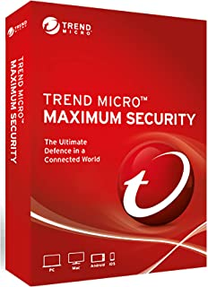 trend micro maximum security 6 devices