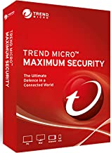 Trend Micro Maximum Security Latest Version, Support cross-version upgrade 5 Devices 3 Years for PC, Mac, Android and IOS Product Key card Windows7, 8.1 and 10