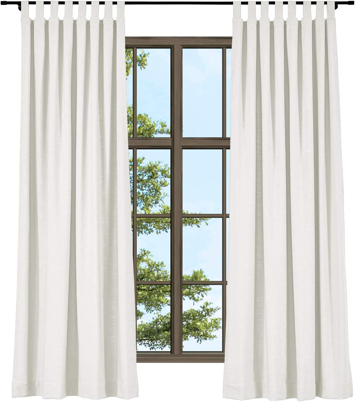 ChadMade ブランド買うならブランドオフ Linen Off White 本物◆ Extra Wide Darkening Room Curta Top Tab