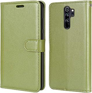 Laybomo Carcasa para Xiaomi Redmi Note 8 Pro Tapa Funda Cuero Estilo-Sencillo Monederos Billetera Bolsa Magnética Protecto...