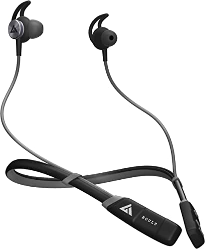 Boult Audio ProBass CurvePro Neckband in-Ear Wireless Earphones with 12H Battery Life & Fast Charging, Vibration for ...