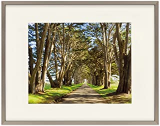 Golden State Art, Antique-Bronze Color Aluminum Picture Frame – Fits 8×10 with..