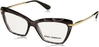 Dolce & Gabbana Dolce & Gabanna DG5025 504 53 Transparent Grey Woman Cat Eye Eyeglasses