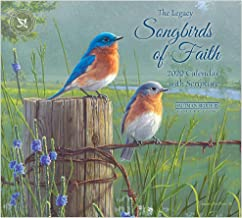 Legacy Publishing Group 2020 Wall Calendar with Scripture, Songbirds of Faith
