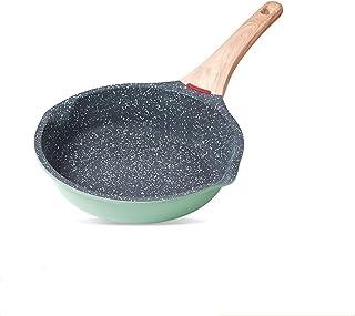 Non pinne stekpanna med trähandtag matlagningskotte uppsättning frukost crepe maker pan köksartiklar kastrull ramen mjölk ...