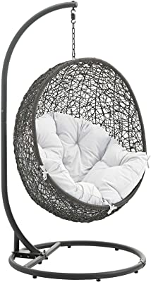 Amazon Com Best Egg Shaped Outdoor Swing Chair Patio Rocking Chairs Garden Outdoor