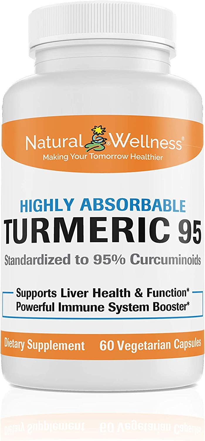 shop Opening large release sale Natural Wellness Turmeric 95 a Highly absorbable Offers