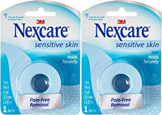 Nexcare Low Trauma Tape For Sensitive Skin, Sensitive Skin 1 Each (Pack of 2) by Nexcare