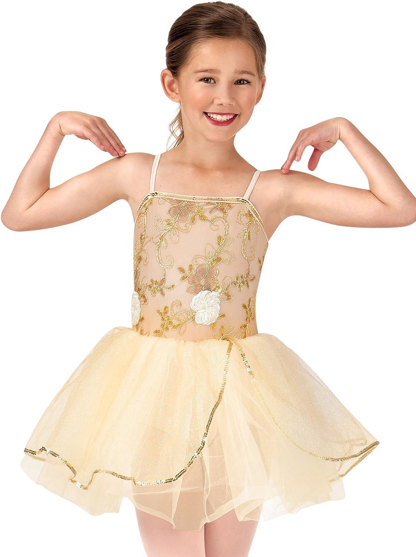 La Petite Ballerina excellence Child Beaded Limited price sale Flower Dr Tutu Costume Camisole