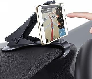 Phone Holder for Car, HUD Design Car Phone Mount : [Update Version] Dopobo Adjustable Dashboard Cell Phone Cradle (Update Black)