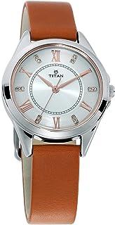 Titan Sparkle Dial Analog Watch for Women - 2565SL02