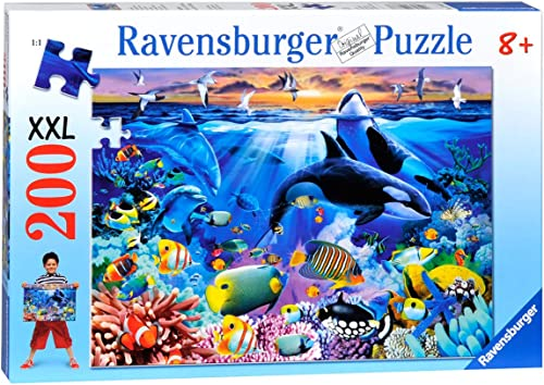 Puzzle Lebendige Unterwasserwelt 200T.