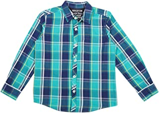 DJ & C By FBB Checkered Shirt with Patch Pocket