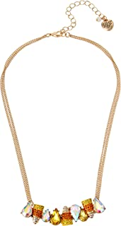 Candy Corn Bar Necklace