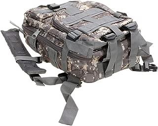 Alger Max 30L Military Rucksack Outdoor Waterproof Large Survival Rucksack Shoulders Bag Tactical Backpack Assault Pack Backpacks Travel Backpack for Men Women (ACU Camouflage)