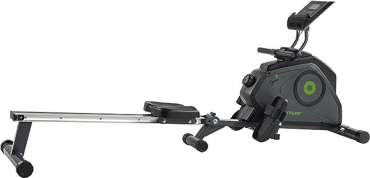 Vogatore per casa - sistema magnetico con computer di allenamento tunturi cardio fit r30 16TCFR3500