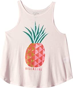Sunny Pineapple Tank Top (Little Kids/Big Kids)