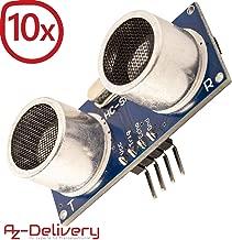 AZDelivery 10 x HC-SR04 Sensor de Distancia Ultrasónico para Raspberry Pi y Arduino