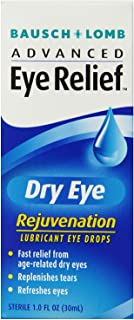 Bausch & Lomb Advanced Eye Relief Dry Eye Lubricant Eye Drops 1 Count ,(packaging may vary)