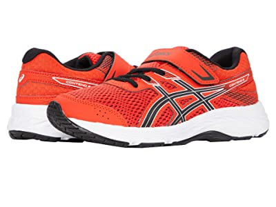 ASICS Kids GEL-Contend 6 (Toddler/Little Kid) (Fiery Red/Black) Boys Shoes