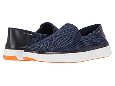 Cole Haan Cloudfeel Knit Slip-On Sneaker (Marine Blue/Vintage Indigo) Men