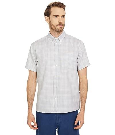 Billy Reid Short Sleeve Offset Pocket Shirt