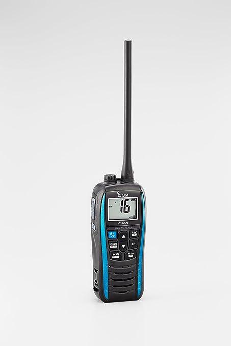 Icom Ic M25 Euro Handfunkgerät Blau Sport Freizeit