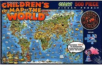 Jigsaw Puzzle Dino's World 500 Pieces: HEMA.D11